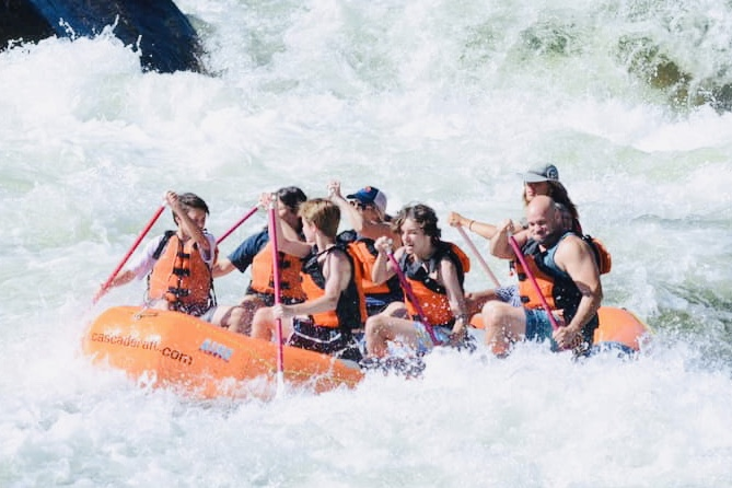 Our families last raft trip on the Payette River Lower Main